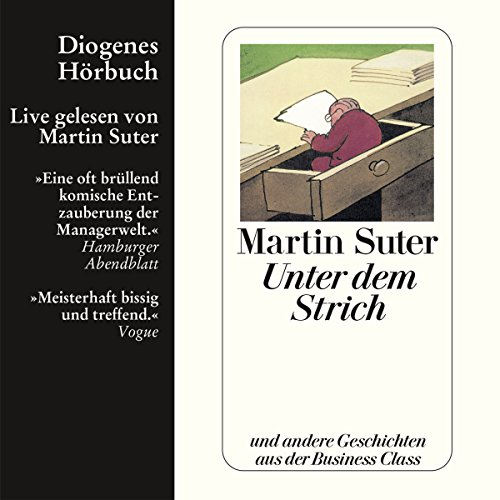 Unter dem Strich audiobook cover art