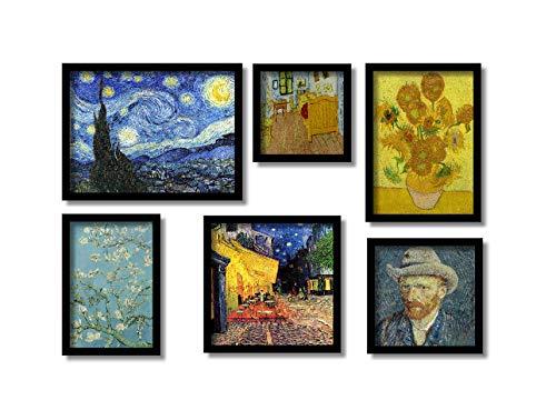 Van Gogh 6 Quadros Mais Famosos Presente Em Toda Decoração