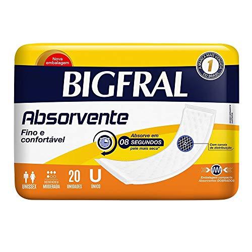 Absorvente Geriátrico, Bigfral, Amarelo, 13, Bigfral, Amarelo, 13