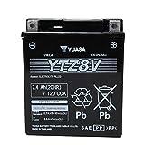 YUASA YTZ8V GTZ8VV互換 バッテリー