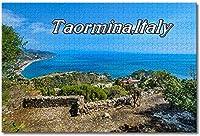 BEI YU MAN.co イタリアタオルミーナシチリア海岸線ジグソーパズル大人用子供1000ピース木製パズルゲームギフト用家の装飾特別な旅行のお土産