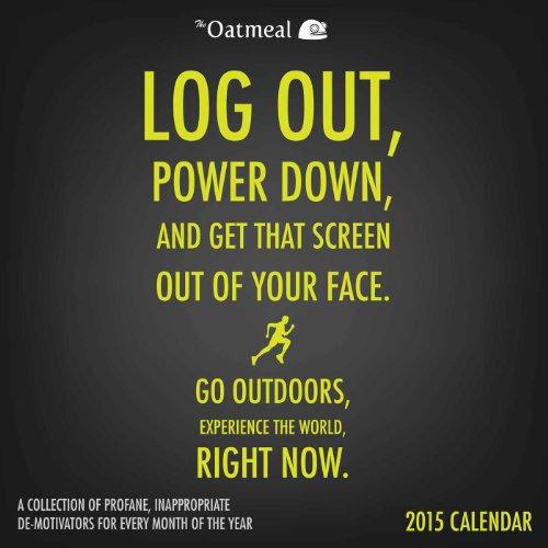 The Oatmeal 2015 Wall Calendar