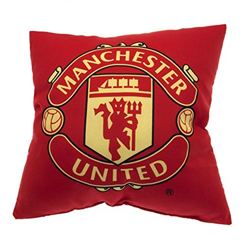 Manchester United Crest Cushion