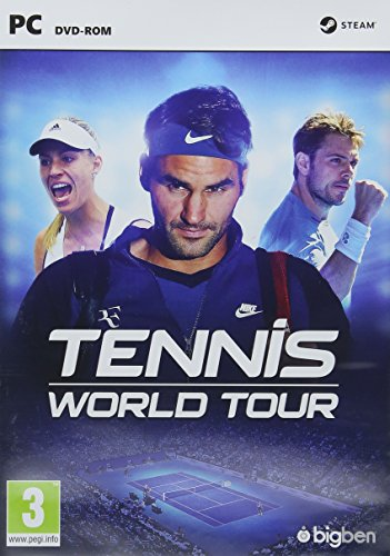 Tennis World Tour Pc Dvd