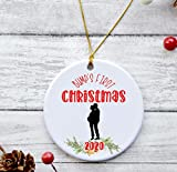 Bump's first christmas | First Christmas Pregnant | Keepsake Ornament for tree 2020