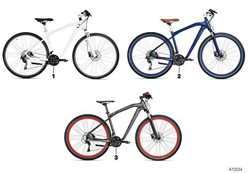 BMW Cruise M Bike - Bicicleta en color antracita y rojo, mate, tamaño S: Amazon.es: Coche y moto
