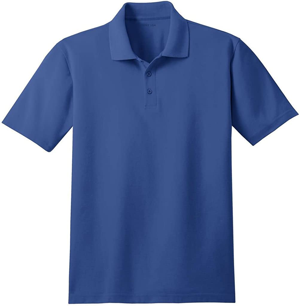Men's Moisture Wicking Stain Resistant Polos in Regular, Big & Tall