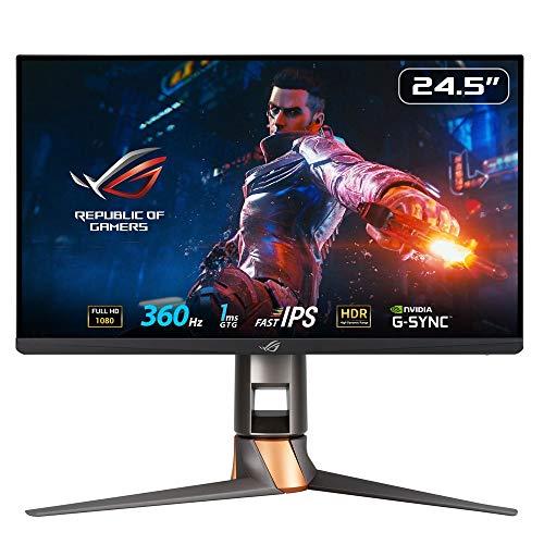 ASUSTek ROGゲーミングモニター 24.5インチ PS5 対応 ROG SWIFT PG259QN (フルHD/Fast IPS 1ms/360 Hz/HDR/NVIDIA ULMB/DP,HDMI)