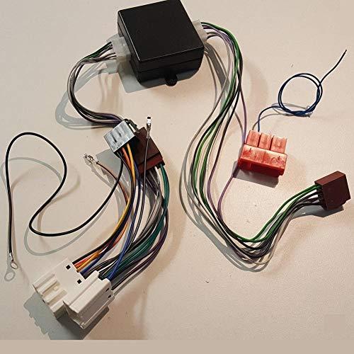 Fiche ISO Autoradio K350ZB compatible avec Nissan 350Z Murano avec Ampli