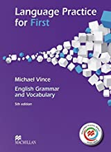 Language Practice for First. Student's Book with MPO (without Key): English Grammar and Vocabulary.5th edition (2014)