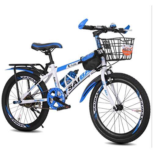 Muyu Kinderfiets 8 jaar kinderfiets mountainbike fiets voor kinderen 20(22,24) inch