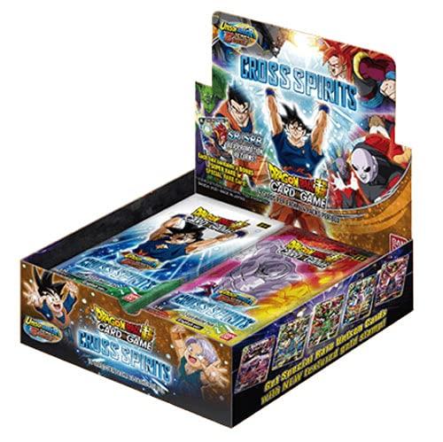 Dragon Ball Super Unison Warrior Series 5 Cross Spirits Booster Box [B14] - 24 Packs of 12 Cards