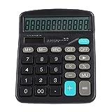 Diyeeni Mini Calculatrice Intelligente, Calculatrice Solaire électronique à Double énergie, Fournitures de Bureau, Calculatrice 12 Bits pour Bureaux, finances, école