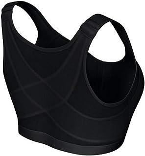 حمالة صدر رياضية رياضية رياضية متقاطع للنساء بظهر داخلي مزود بخيار واحد مزود بمنظم داخلي للسيارة مقاس 2XL