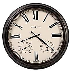 Howard Miller COMPASS ROSE Wall Clock, Special Reserve