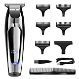 VGR Hair Clippers for Men - USB Rechargeable Beard Hair Trimmer - Professional