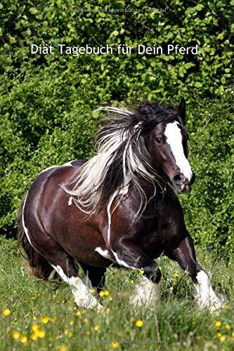 Diät Tagebuch für Dein Pferd: Softcover, 120 Seiten, übersichtliche Vorlagen zum ausfüllen