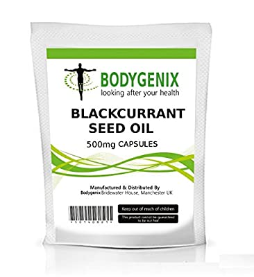 Blackcurrant Seed Oil 500mg Capsules Gamma-linolenic Acid (120)