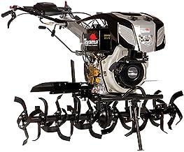 "Motocutivador Diesel Toyama 11,0hp Cabo ajustável Corte 800-1350 mm com Farol Partida Elétrica Rodas 4.0""-8"" Tdt135re8-xp"