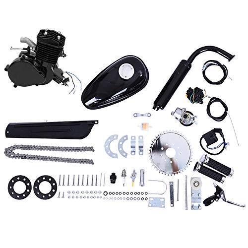 80CC 26' 28' Bicycle Engine Kit, Bike Bicycle Motorized 2 Stroke Petrol Gas Motor Engine Kit