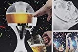 InnovaGoods Ball Tireuse à bière réfrigérante en PMMA Argenté 24x 24x 42cm