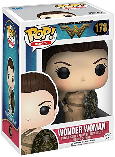 Funko 12543–Wonder Woman Movie, Pop Vinyl Figure 178Amazon Wonder Woman