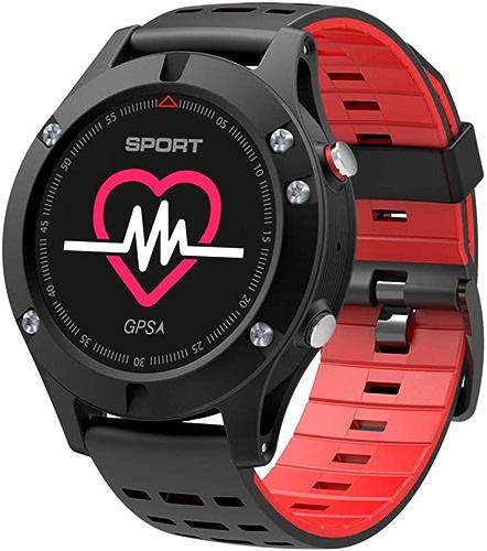 intelligent regarder Sports de Plein air Montre Intelligente Bracelet avec GPS Surveillance de la fréquence voiturediaque pédomètre Fitness Tracker randonnée vélo Escalade pour iOS Android