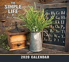 The Simple Life 2020 Wall Calendar by Irvin Hoover l Perfect for Your Country Home