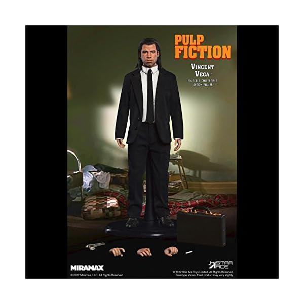 Star Pulp Fiction My Favourite Movie Action Figure 1/6 Vincent Vega 30 cm Toys 4