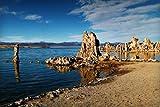 Juego De Bricolaje 1000Piece Puzzles Puzzle Torre De Toba Formaciones Rocosas En El Lago Mono para Rompecabezas De Regalo De Juguete para Niños Adultos