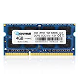DUOMEIQI PC3-10600 4GB DDR3 1333MHz Unbuffered Non-ECC 1.5V CL9 2Rx8 Dual Rank 204 Pin SODIMM Portatil Memoria Principal Module Upgrade