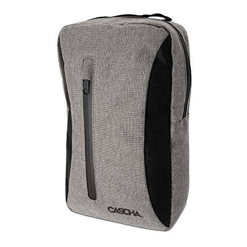 Cascha Unisex– Erwachsene Grau Scooter Tasche Rucksackfunktion, universell einsetzbar, 36cm x 22cm x 11cm, mittel