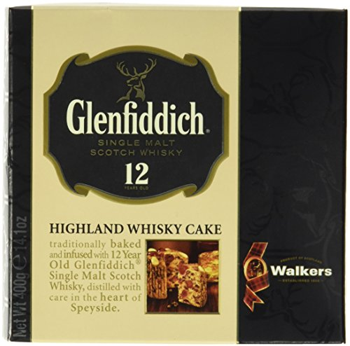 Walkers Shortbread Glenfiddich Whisky Cake 400g, 1er Pack (1 x 400 g)