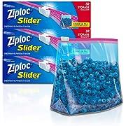 Ziploc Gallon Slider Storage Bags, 32 ct (Pack of 3) 96 total bags