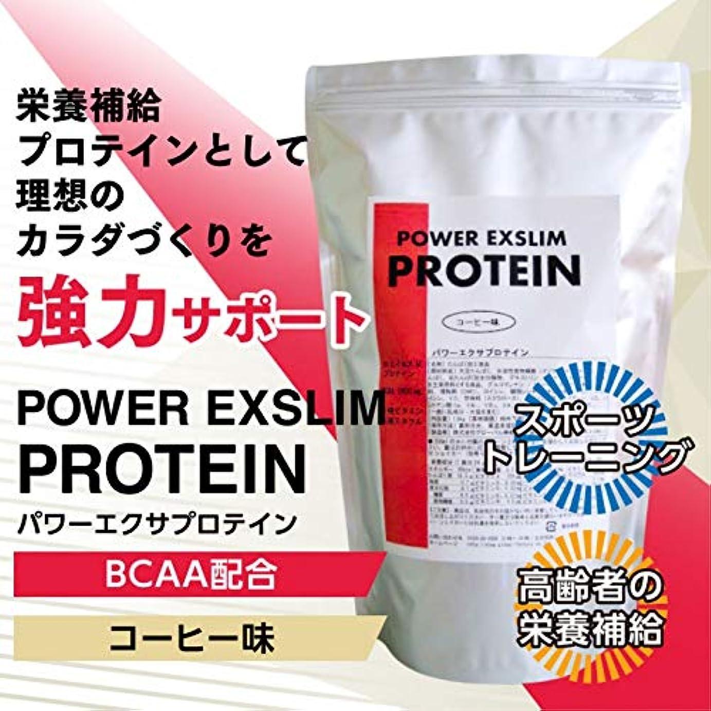 啓示細胞援助《20%OFF》パワーエクサプロテイン コーヒー味1.2Kg【BCAA配合】