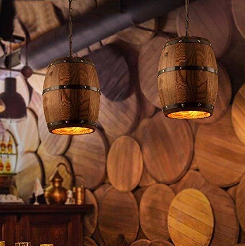 In ottone antico lampadario,luci a soffitto per soggiorno lampadario,Vintage botti di legno lampadario pastorale di illuminazione paese americano