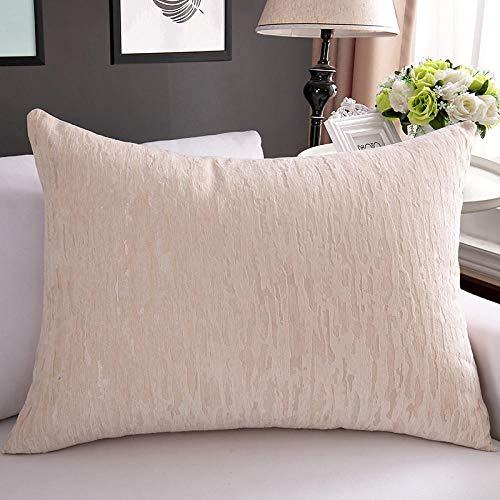 Fodera per cuscino jacquard in stile europeo fodera per divano fodera per divano 45 50 55 60 65 70 75 80 senza anima-40X40 cm_Beige venatura del legno
