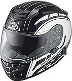 Held Brave II - Casco de moto (talla XL), color blanco y negro