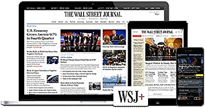 Wall Street Journal 3 Years Digital Edition Subscription [85% OFF]