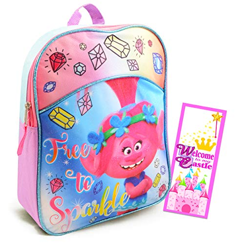 Dreamworks Trolls Toddler Preschool Backpack 11 Inch Mini Backpack (Trolls School Supplies)