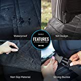 Smirly Cargo Liner Mat for Pets: Universal Car, Truck, and SUV Cargo Liners and Dog Seat Cover - Heavy Duty Pet Car Seat Cover for Backseat and Trunk Area with Dog Bowl, Pet Seat Belt, and Storage Bag