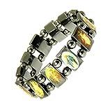 Neptune Giftware Magnetische Hämatit elastische Heiligen Armband/Bracelet Jesus/alle Heiligen Armband - 113