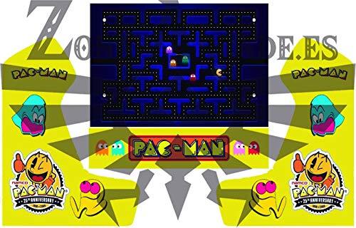 Zona Arcade Vinilo para recreativa bartop (Pacman)