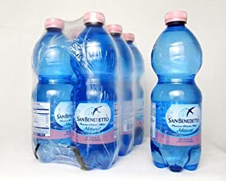 San Benedetto Still Water, 16.9 Ounce Plastic Bottles (Pack of 24)