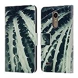 Head Case Designs Officiel Dorit Fuhg Cactus 2 Plantes Coque en Cuir à Portefeuille Compatible avec LG K10 / K11 / K11 Plus...