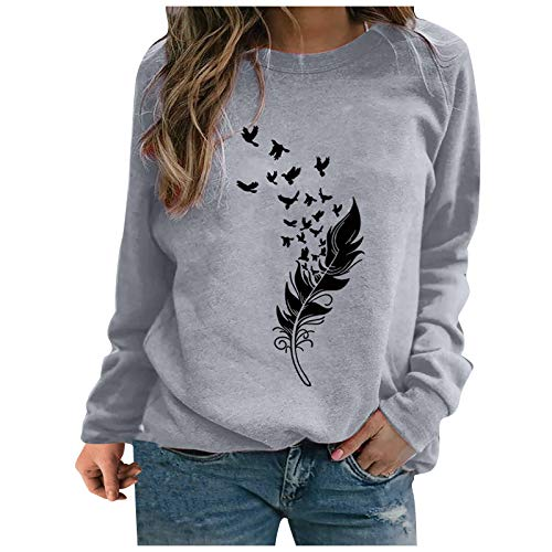 Sweatshirts for Women Autumn Winter Casual Pullover...