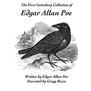 The First Project Gutenberg Collection of Edgar Allan Poe                   By:                                                                                                                                 Edgar Allan Poe                               Narrated by:                                                                                                                                 Gregg Rizzo                      Length: 39 mins     Not rated yet     Overall 0.0