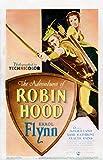 The Adventures of Robin Hood Poster Drucken (60,96 x 91,44