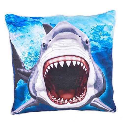 Adventure Planet Shark Plush Pillow