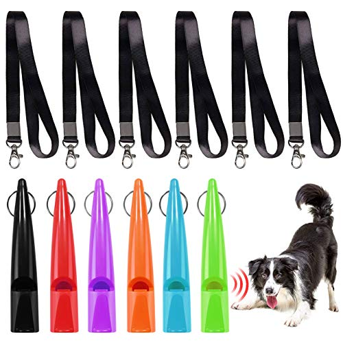 Fischietti per Cani,Cane Fischietto,Fischietti Addestramento Cani,Fischietti Professionale per Cani,Ultrasuoni Fischietto per Cani da Caccia ,Strumento per l'addestramento del Cane(6 PCS)